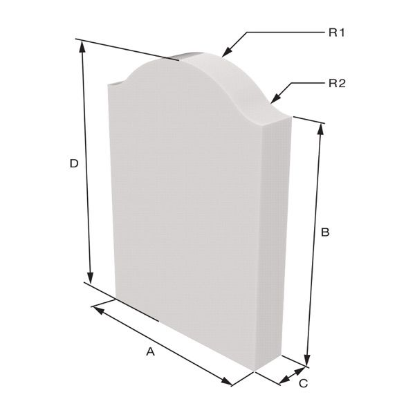 Cora model Sizing Dimensions