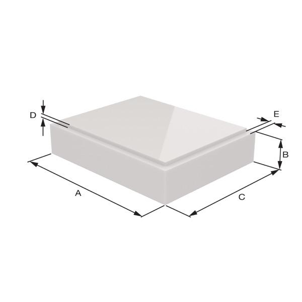 Ida model Sizing Dimensions