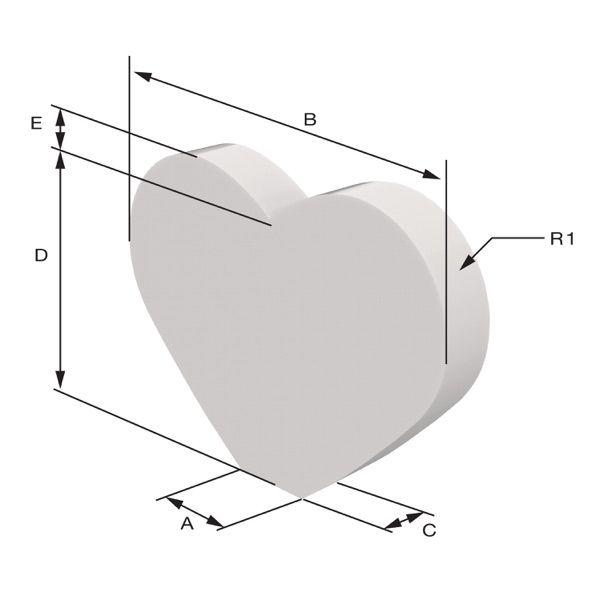 Maida model Sizing Dimensions