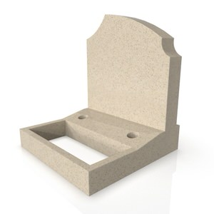 Sloped Vase Base & Square Planter AU