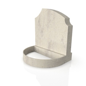 Standard Base & Round Planter CS