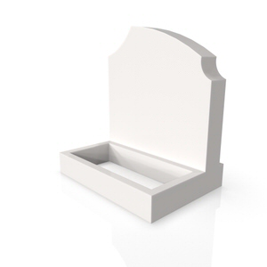 Standard Base & Square Planter GW