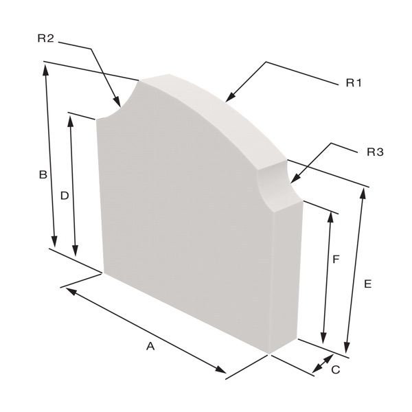 Meral model Sizing Dimensions