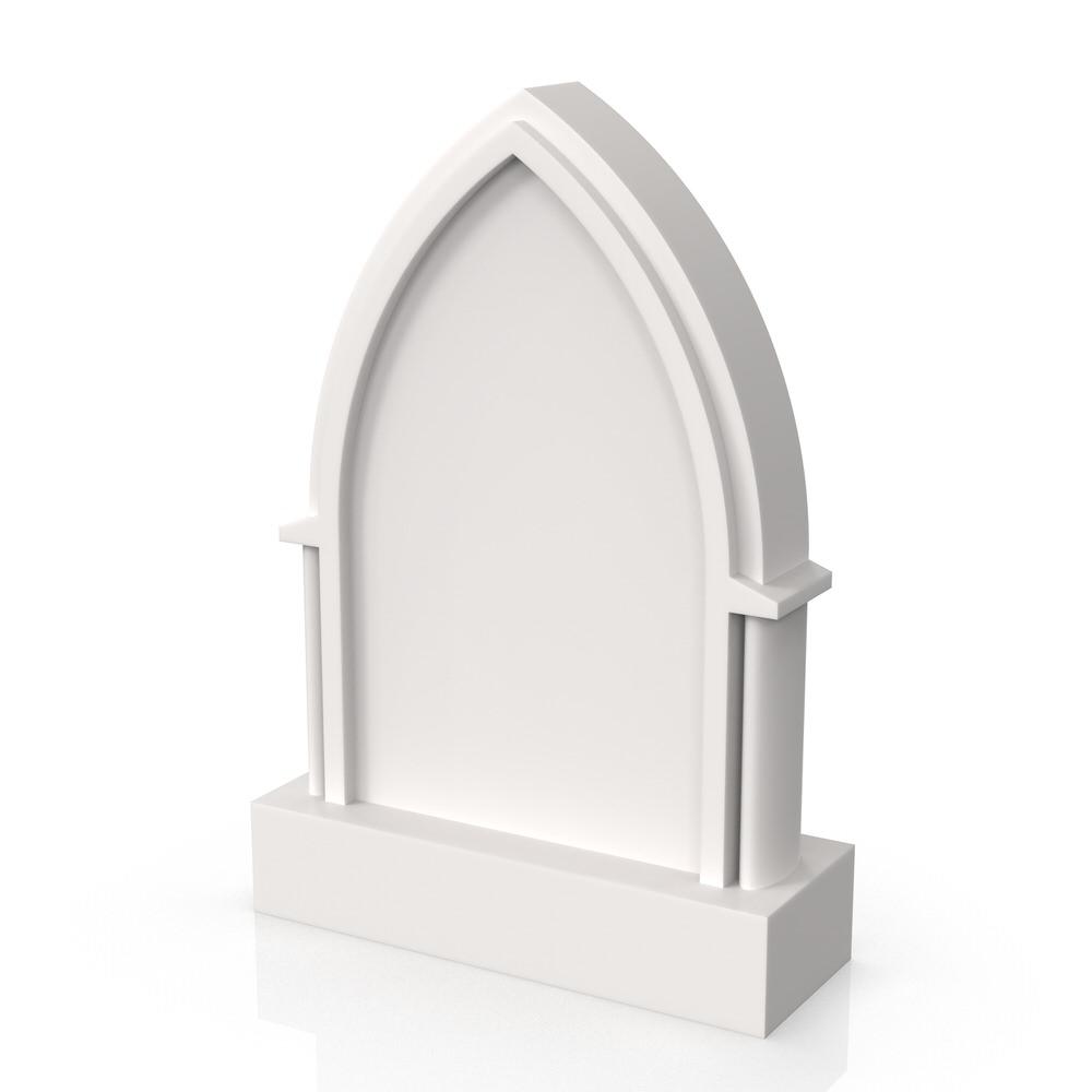 Peaceyard gravestone model Aurelia with standard base