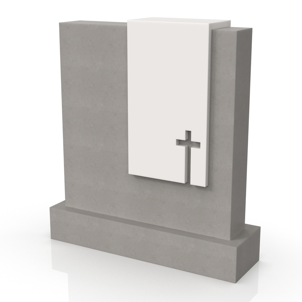 Peaceyard gravestone model Hazel with standard base